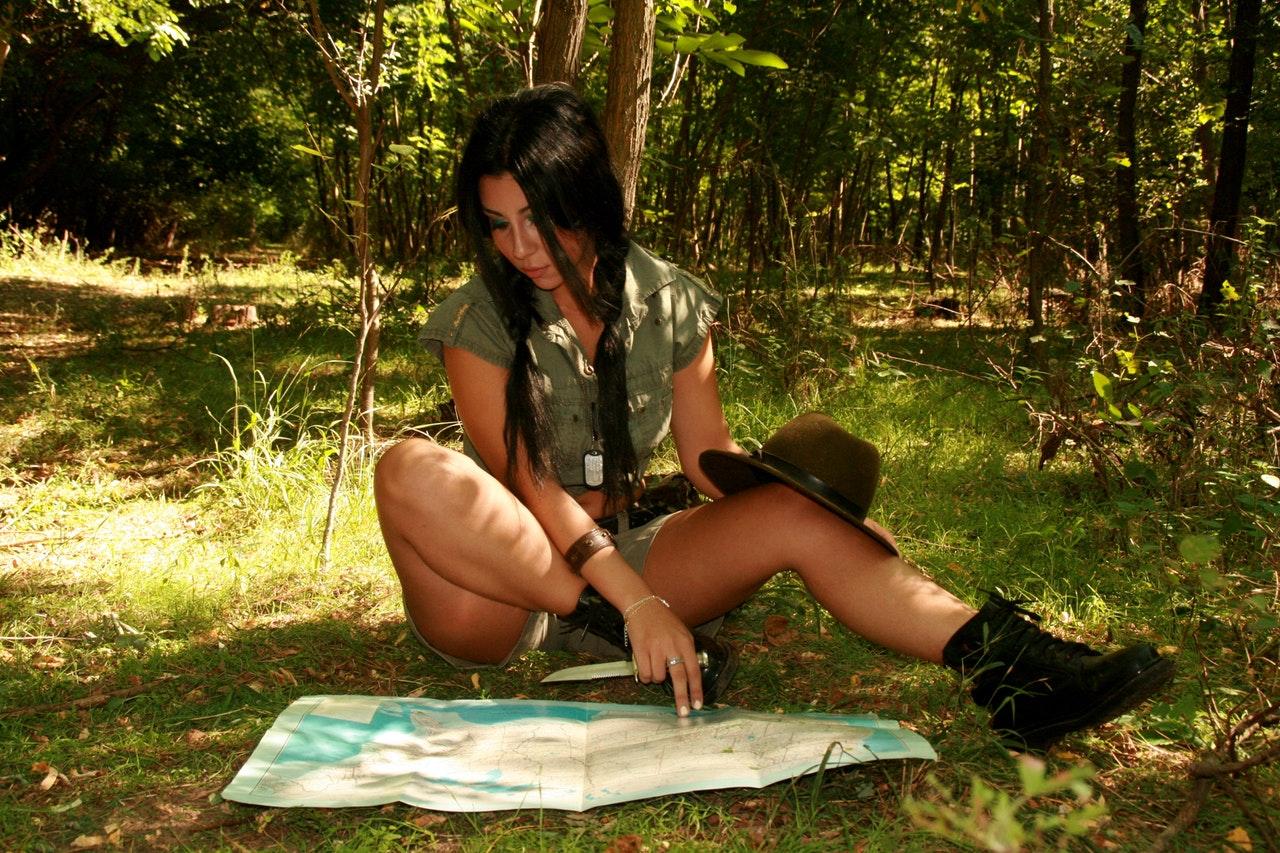 Sex w lesie